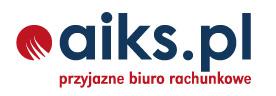 Logo - Biuro Rachunkowe AiKS zalesie górne piaseczno